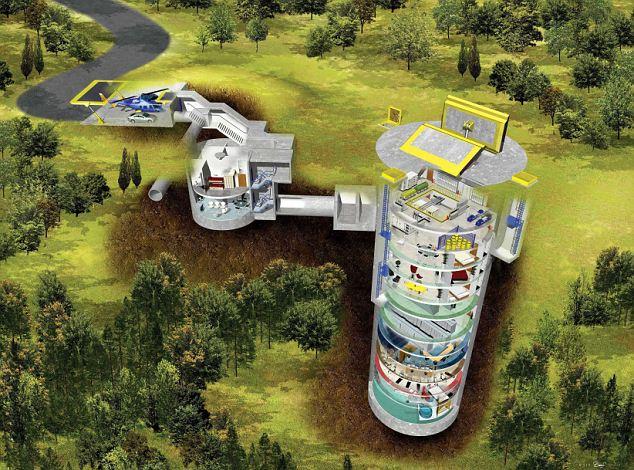 UK firm Powerhouse have designed an underground bunker fit for Tom Cruise and his family. Recently Tom acquired planning permission to build a bunker at his Colorado home to protect his family in the event of an intergalactic alien attack.The Mission Impossible actor, who is a dedicated follower of Scientology, is reportedly fearful that deposed galactic ruler 'Xenu' is plotting an evil revenge attack on Earth. Ref: SPL4172 021007 Picture by: Splash News Splash News and Pictures Los Angeles: 310-821-2666 New York: 212-619-2666 London: 870-934-2666 photodesk@splashnews.com Splash News and Picture Agency does not claim any Copyright or License in the attached material. Any downloading fees charged by Splash are for Splash's services only, and do not, nor are they intended to, convey to the user any Copyright or License in the material. By publishing this material , the user expressly agrees to indemnify and to hold Splash harmless from any claims, demands, or causes of action arising out of or connected in any way with user's publication of the material.