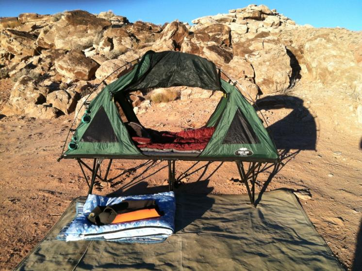 K& Rite Tent Cot Review & Is This Thing For Real? The Kamp-Rite Tent Cot Review