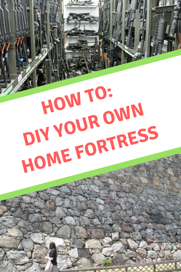 DIY Home Security- Creating A Fortress Doesn't Cost A Fortune - From Desk Jockey To Survival Junkie #shtf #disasterpreparedness