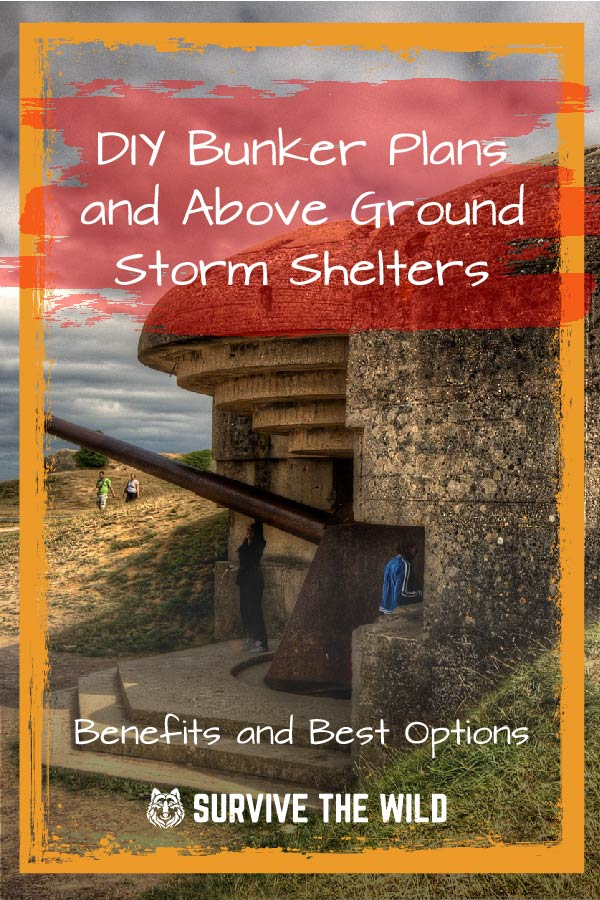 Diy Bunker Plans And Above Ground Storm Shelters